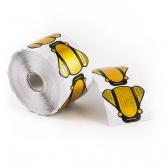 Goldschablonen Butterfly